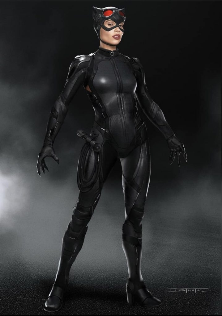 Fan-Made Concept Art of Catwoman Shows What Zoë Kravitz ...